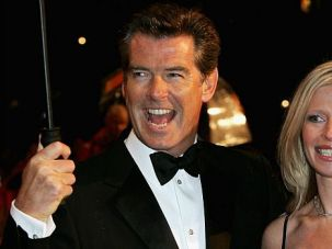 Tears for 007: ?James Bond? actor Pierce Brosnan?s daughter, Charlotte, right, has died of ovarian cancer.