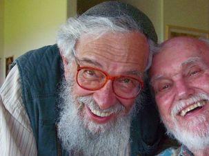 An Inspiration: Zalman Schachter-Shalomi (left) and Ram Dass in February 2008.