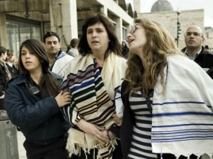 Fighting Words: Rabbi Sarah Silverman, left, says the kotel has been ?hijacked? by the ultra-Orthodox.