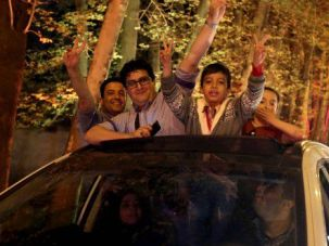 Iranians celebrate signing of framework nuclear deal with Western powers.