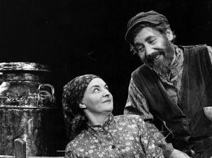 I WIll Be Your Father Figure: Tevye the Milkman was lord of his manor much like Lord Grantham of Downton Abbey (but at a slightly different pay scale).