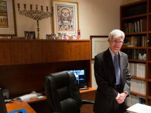 Unusual Path: Rabbi Theodore Tsuruoka came to Judaism late in life. His unusual spiritual journey is seen as an asset by the leaders of Temple Isaiah of Great Neck, L.I., which has a history of making non-traditional decisions.