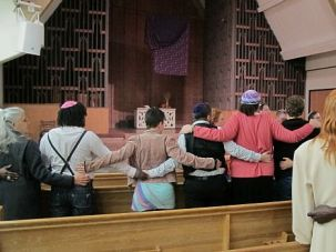 Speaking Up: Transgender Jews celebrate shabbat at a California synagogue.