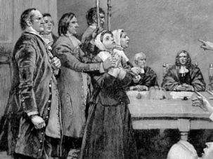 Puritan Ways: Branding heretics and witchhunts were hallmarks of 17th century America. Some Zionists are going down a similar path today.