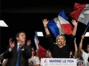 French far-right Front National party leader Marine Le Pen.