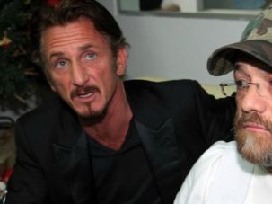 Guilt Trip? Jacob Ostreicher, shown with actor Sean Penn, fled house arrest in Bolivia for freedom. The South American nation?s president says the Hasidic businessman proved his guilt by leaving the country.