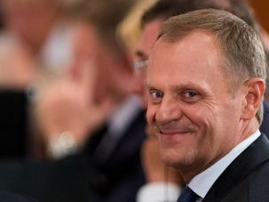 Is It Kosher? Poland?s Prime Minister Donald Tusk says a constitutional court will rule at some point whether a ban on kosher slaughter violates religious rights of Jews.