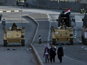 Best Option: Amid the Egyptian army?s crackdown, Israel is lobbying the U.S. and Europe to maintain aid to its neighbor.