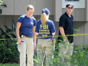 Triple Murder Suspect: FBI agents investigate the aftermath of the fatal shooting of Ibragim Todashev in Orlando. The friend of Boston bombing suspect Dzokhar Tsarnaev was being questioned about the murder of two Jewish men and a third man in 2011.