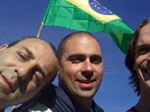 Super (Jewish) Fans: Maxi Klein, Mariano Schlez and Damian Beker founded Jewish Soccer Fanatic.