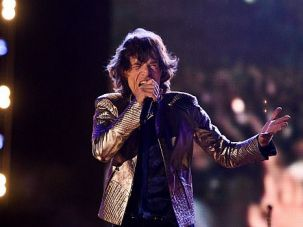 Coming to Israel: Mick Jagger performs with the Rolling Stones in Portugal ahead of the group's Israeli show.