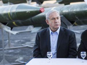 Loose Cannon? Hardline Defense Minister Moshe Yaalon sits next to Prime Minister Benjamin Netanyahu.