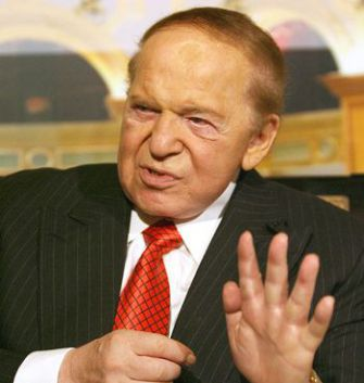Anti-Union: Billionaire casino magnate and philanthropist Sheldon Adelson has helped lead the fight against EFCA, which he condemns as ?one of the two fundamental threats to society,? along with Islamism.