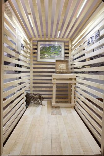Pine Fresh:  Alpine cabins provide innovative display contexts for Jewish and Germanic histories.