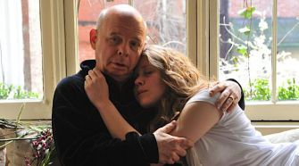 Their Autumn With Andre: Wallace Shawn and Lisa Joyce in 'A Master Builder.'