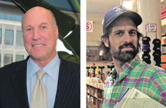 All In The Family: Noted rock musician and poet David Berman (right) denounced his father, Washington lobbyist Rick Berman (left), as ?a despicable man? for his anti-union work.
