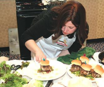 Top Chef: Amy Siegel won first place at the third annual Manischewitz Cook-Off.
