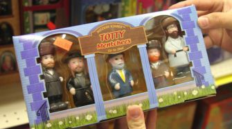 Action Figures:  Totty Mentchees is one of many kosher toys at Wise Buys.