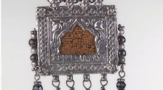 Charmed: Chain with amulet for protection of a bride.