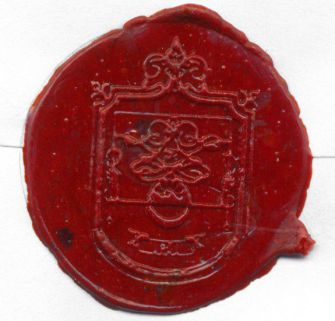 ?A Good Seal?: Seals were used to close impor- tant documents and as personal signatures. [click for larger version]
