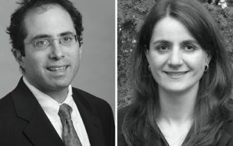 For the Defense: Jonathan Hafetz, of the ACLU, and Karen Abravanel say their religious background has not interferred with their ability to defend Muslim terrorism suspects.