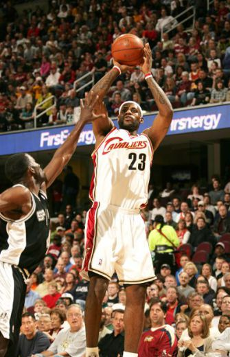 Slam Dunk: LeBron James, center, suggested a Jewish philanthropist for the ?Time 100.?