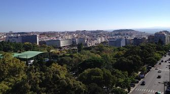 Lisbon: A view of the Portuguese capital.