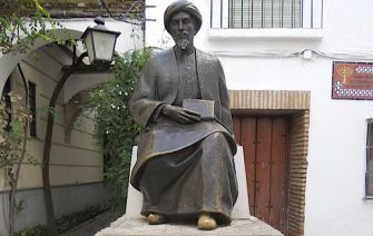 Tourist Trap?: A statue of Maimonides stands in the middle of Córdoba?s Jewish quarter.