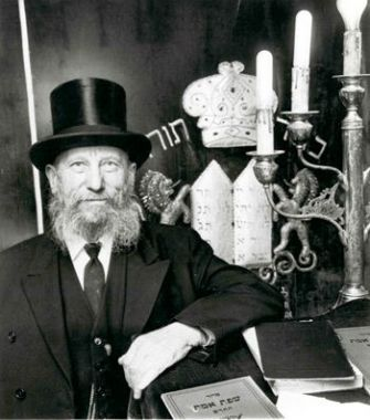 Heart of Gold: Rabbi Silver raised funds to ransom Jews from the Nazis.