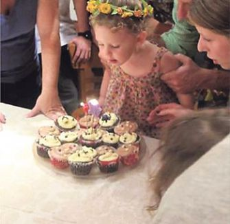 Deborah Kolben?s daughter blows out the candles at her birthday party. Being the child of journalists, she?s been the subject of articles about breastfreeding, teething and more. But when is too much information really too much?