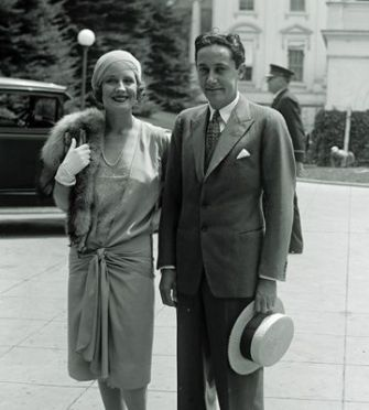 Boy Wonder: Irving Thalberg and his wife, film star Norma Shearer.