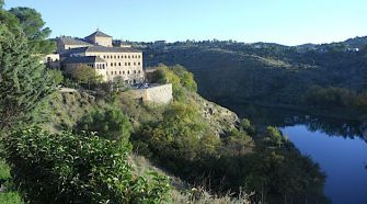 Tagus: Toledo is surrounded on three sides by the Tagus River.