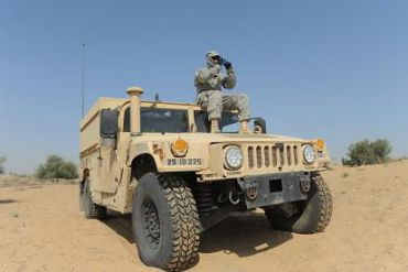 Perelman and Rennert co-own the business that makes Humvee military vehicles.