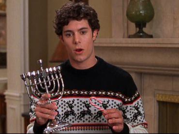 A still from ?The O.C.? ?the show that popularized the term ?Chrismukkah.?