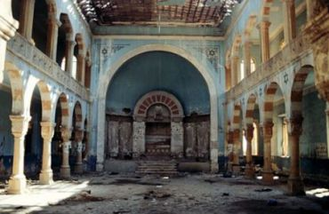 The Magen Abraham Synagogue in Beirut.