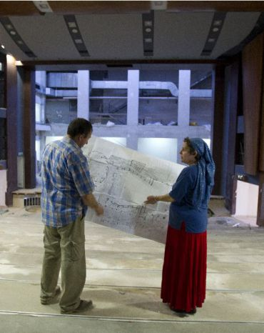 A new theater in the West Bank settlement of Ariel has become a center of controversy in Israel.