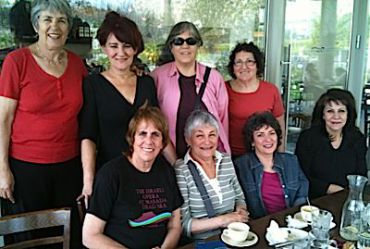 These women have meeting Fridays for breakfast for the past 25 years. (click to enlarge)