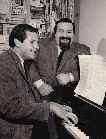 Mort Shuman and Doc Pomus (right).