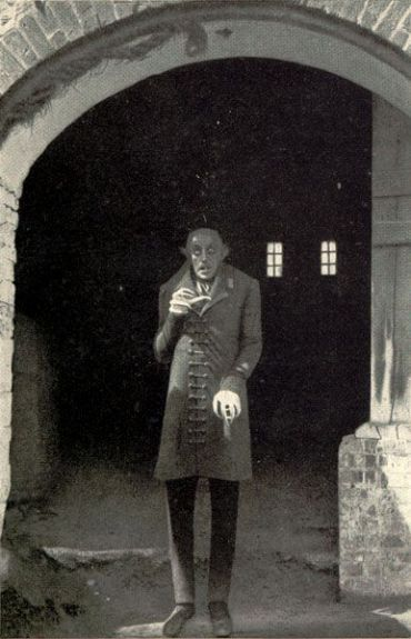 Max Schreck as Count Orlok, the first cinematic representation of Dracula.