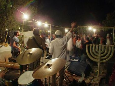 Israeli band Aharit Hayamim, one of the recent performers at Jewlicious Festival.