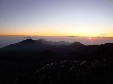 Sunrise at Mount Haleakala (click to enlarge)