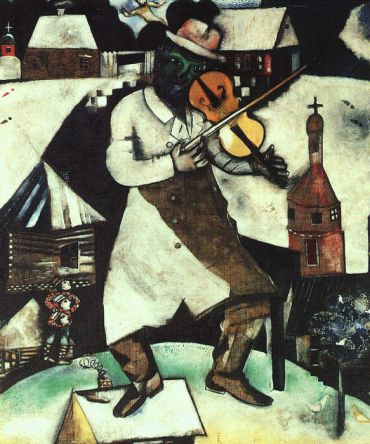 Marc Chagall, ?The Fiddler,? 1912-1913.