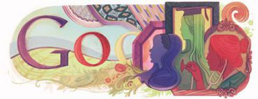 Google?s International Women?s Day logo.
