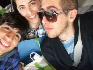 Israel?s teen GLBT ambassadors: Elior, Ronni and Gil (click to enlarge)