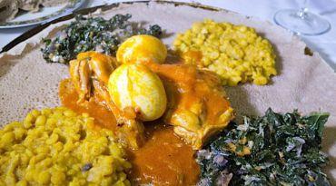 Tastes of Home: Barhany prepares a traditional Ethiopian Shabbat feast.