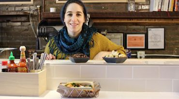 Out of the Box: Each of Itta Werdiger Roth?s projects breaks the norm of kosher food. Her cooking is talented self-taught chef and her personal touches like a spray-painted mural at her new restaurant Mason & Mug are creative and unexpected.