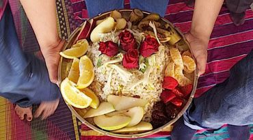 Celebrating Elijah: Indian Jews honor the prophet with a sweet rice preparation called malida.