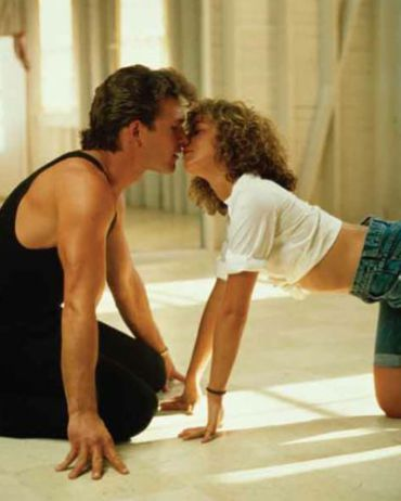 Patrick Swayze and Jennifer Grey in ?Dirty Dancing.?