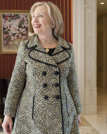Secretary of State Hillary Rodham Clinton in China in July.