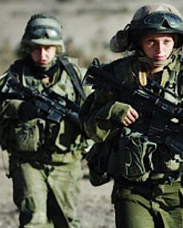 Female IDF soldiers.